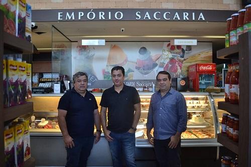 Bruno, Ronaldo e Rogério inauguram ainda este mês o Saccaria Bueno, que terá o mesmo conceito e perfil da unidade do Jardim Goiás